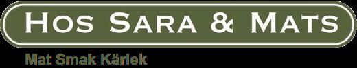 Sara o Mats Logo